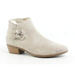 Jack Rogers Kali Suede Bow Bootie 9.5